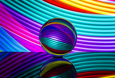 psychedelic dreams (sure2talk) Tags: psychedelicdreams crystalball lightpainting torch colouredgels longexposure nikond7000 nikkor85mmf35gafsedvrmicro 117picturesin2017114throughthelookingglass studio26 smileonsaturday roundandround