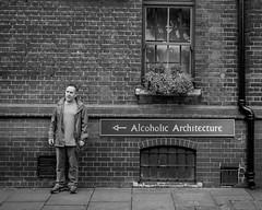 The piss artist (Karen Christina photography) Tags: southbank london londonstreets timeoutlondon man drunk alcoholic drink peoople life stress addiction pissartist boose drinkexcessively demondrink