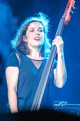 Gingkoa @ Festival International de Louisiane (bayoudragonfly) Tags: ginkgoa lafayette louisiana festivalinternationaldelouisiane bassist musician