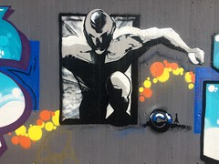 (falkmo) Tags: city urban charakter character comic halloffame wall graffiti art