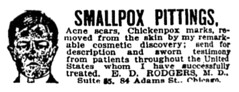 smallpox pittings (Al Q) Tags: smallpox pittings acne scars chickenpox marks cosmetic rodgers chicago