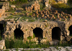 Roman heating system  in al-Mina archaeological site, South Governorate, Tyre, Lebanon (Eric Lafforgue) Tags: ancient archaeological archeology architecture byzantine civilization colorimage heater heating heritage historic historical history horizontal landmark lebanon liban liban438 middleeast necropolis nopeople outdoors past remains roman ruins sights sour southgovernorate tourist touristic tyr tyre unescoworldheritagesite lb libanon libano ливан レバノン لبنان