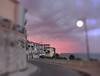 Sunset in Ortona (flaviodc) Tags: sky nuvole clouds pink tramonto sunrise ortona abruzzo italia italy costadeitrabocchi passeggiataorientale