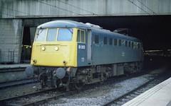81003 at Birmingham New Street, 4th June 1983 (colin9007) Tags: aei bth brcw al1 class 81 electric bobo 81003 e3004 birmingham new street