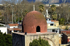 Palermo - San Giovanni agli eremiti (mangaddicted) Tags: palermo sicilia sicily town italy south sunny cupole seaside marmediterrraneo