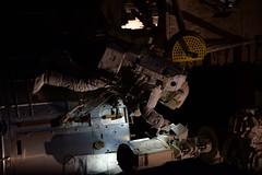 Fixing the Japanese robotic arm (Thomas Pesquet) Tags: spacewalk eva jackfischer peggywhitson iss internationalspacestation