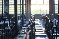 桃園・大溪老茶廠 ∣ Daxi tea factory・Taoyuan city [EXPLORED] (Iyhon Chiu) Tags: chairs chair 椅子 大溪 桃園 大溪老茶廠 daxi tea factory taoyuan taiwan 台灣 window 窗 窓