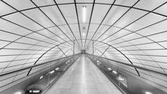 Random Passage (Andrew G Robertson) Tags: hamburg airport terminal station train canon1124mm canon5dmkiv