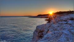 sunset on the rocks (Luciano Silei - sky7) Tags: sunset sun tramonto sea adriatico jadran premantura istra istria croatia hrvatska kamenjak lucianosilei canon7d canon1740mm seascape landscape panorama