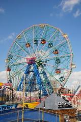 DSC_2389 (artsynancy) Tags: coneyisland brooklyn coneyislandbrooklyn spring amusement throwback urban seaside shore boardwalk carousel entertainment newyorkcity newyork brooklynnewyork