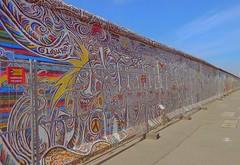 "The Berlin Wall HFF. (""DavidJHiom"") Tags: berlin memory memorial berlinwall streetart mural graphiti germany art saarlysqualitypictures thegalaxy"
