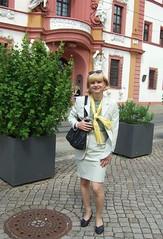 State councelery (Marie-Christine.TV) Tags: feminine transvestite lady mariechristine tgirl tgurl erfurt skirtsuit kostüm secretary sekretärin