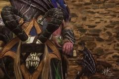 RenePolumorfous' Illidari from World of Warcraft, by SpirosK photography: details (SpirosK photography) Tags: renepolumorfous illidari cosplay costumeplay photoshoot athens greece kaisariani immitos worldofwarcraft spiroskphotography game videogame videogamecharacter blizzard wow