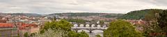 Prague, Panorama of the Old Town. (Kent Johnson) Tags: bridges mánesůvmost charlesbridge karlůvmost mostlegií jiráskůvmost praguepanorama vlatvariver oldtown malastrana staremestro 800hadjsef4091jpg prague praha czechrepublic travel spring