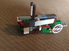 WIP- 1:14 Scale John Deere G (JD430w) Tags: lego tractor john deere johndeere g wip