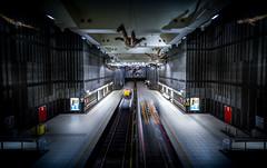 Graaf van Vlaanderen metro station, Brussel (Joris Vanbillemont) Tags: underground brussel brussels graaf van vlaanderen comte de flandre metro station tube