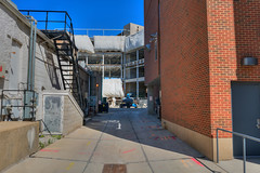 Construction (Aaron Gaines) Tags: construction hdr brick building