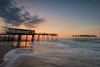 Frisco Pier Sunrise (Avisek Choudhury) Tags: nikond810 nikon1635mm avisekchoudhury avisekchoudhuryphotography acratechballhead gitzo friscopier outerbanks northcarolina nc sunrise seascape leefilters