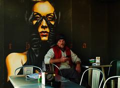 In un bar (Giuseppe Cocchieri) Tags: street streetphoto people colore colori colors color persone marinaio marinai bar pub