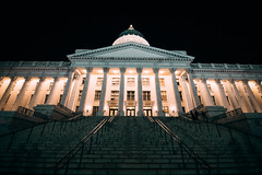 Downtown - Night-39 (AWaldronImagery) Tags: downtown utah utahphotographer utahphotography 1dxmarkii canon canonphotography canon1dxmarkii wide beauty architecture photography capitol salt lake city slc salty