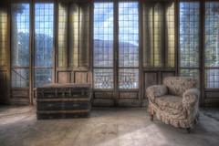 """"""" Tra presente e passato..."""" (Giovanni Cedronella) Tags: abandoned architecture shadows dust dreem decay window urbex light"""