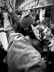 iPhone photo 25 - Milano (Jacopo Pandolfini) Tags: streetview bw iphone7 gente people urbano urban street metro metropolitana italia italy milan milano blackandwhite bn bianconero biancoenero