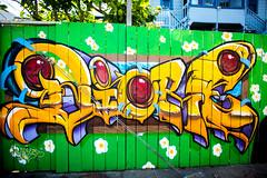 Waiting (Thomas Hawk) Tags: america bayarea california mission missiondistrict sf sfbayarea sanfrancisco usa unitedstates unitedstatesofamerica westcoast graffiti