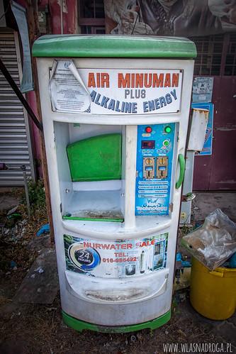 Automat z wodą filtrowaną