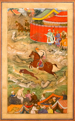 IMG_1173 (jaglazier) Tags: 1604 1604ad 17thcentury 17thcenturyad 2017 5317 abulfazl adults akbar akbarnama animals architecture bearded beards buildings copyright2017jamesaglazier crafts gazelles hamidbhakari horses hunting india islamic mammals manohar may men metropolitanmuseum mughal museums muslim newyork painting paper portraits riding tents usa urbanism art books cheetahs cities dogs gold ink landscapes mountains opaque watercolor unitedstates