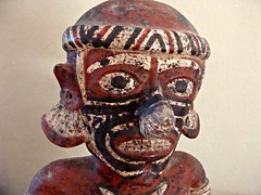 Happy Little Guy (knightbefore_99) Tags: little guy statue zapotec indian native art clay decameron rincon guayabitos mexico mexican nayarit cool awesome smile