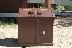 for recycle bin collection (ArnieLee) Tags: sandharbor
