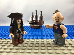 2017-130 - Pirate Ship (Steve Schar) Tags: 2017 wisconsin sunprairie iphone iphone6s project365 lego minifigure goonies jacksparrow sloth ship pirateship legodimensions