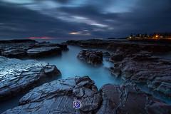 Kiama Surf Beach Sunrise (davywg) Tags: kiama surf beach wollongong nisi filter cpl gnd canon60d sunrise australia nsw rock formation longexposure