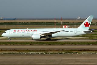 Air Canada | Boeing 787-9 | C-FGEO | Shanghai Pudong
