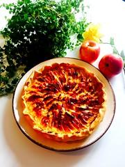 Bon appétit 😊 (fourmi_7) Tags: tarte pommes dessert gourmandise sucre plaisir