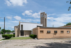 Primeria Iglesia Presbyteriana Mexicana, Brownsville (_jjph) Tags: presbyterianchurch southtexaschurchcrawl2014 churcharchitecture modernarchitecture