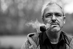 old timer (prashantsingh101089) Tags: nikon d700 85mm pipe smoking full frame