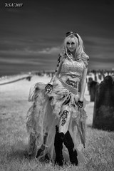 "Whitby Gothic Weekend (""A.S.A."") Tags: whitby northyorkshire britain whitbygothweekend goth gothic gothweekend sonya7rinfrared830nm zeisssonnarfe55mmf18za blackwhite mono monochrome greyscale niksoftware silverefex asa2017"