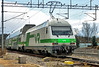 Finnish Railways Class Sr2 electric loco No. 3215 propels a Helsinki express out of Salo on 9 May 2017 (Trains and trams eveywhere) Tags: sr2 electriclocomotive sähköveturi vr finnishrailways trains finland suomi tampere swiss marsu salo