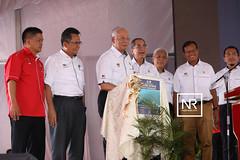 Perasmian majlis pecah tanah projek pemuliharaan muara sungai besut,Terengganu.16/4/17
