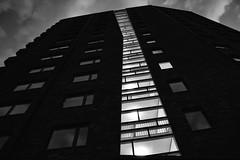 Kajalen (Explore) (Cajofavi) Tags: fs170521 bostad fotosondag momochrome bw building architecture kalmar sweden
