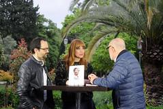 Josep Vicent Miralles, Paula Bonet i Manolo Gil 29/04/17