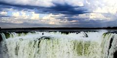 Pace to the edge (vittone.federica) Tags: iguazu cataratas falls waterfall gargantadeldiablo devilsthroat edge peace argentina water sky limits misiones