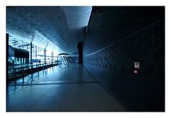 station (rafasmm) Tags: lodz łódź poland polska europe city citycenter railway station building color architecture