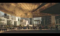 Paris n°156 - La Défense (Nico Geerlings) Tags: ngimages nicogeerlings nicogeerlingsphotography edfbuilding tower ladefense architecture cinematic cinematography fujifilmxt2 fujinon xf14mm paris parijs france