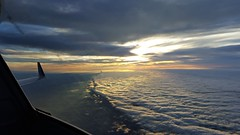 Majestic sunset (CaptainDFW) Tags: canadair crj sunset airliner sky clouds