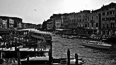 """Canal Grande"" (giannipaoloziliani) Tags: venezia venice canalgrande city italy blackandwhite monochrome bridge downtown sea seaview view landscape flickr vista architecture gondole citylife street streetphotography nikon nikonphotography"