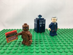 2017-115 - National Telephone Day (Steve Schar) Tags: 2017 wisconsin sunprairie iphone iphone6s project365 lego minifigure et doctorwho twelfthdoctor tardis phone telephone nationaltelephoneday
