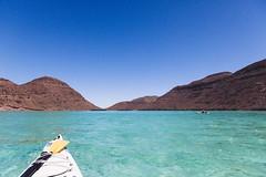 Isla Espiritu Santo (dataichi) Tags: kayak kayaking turquoise water sea cortez island isla espiritu santo mountains bay blue baja california sur mexico travel tourism destination nature landscape