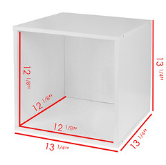 PC1211WH_Dimensions (RegencyOfficeFurniture) Tags: niche regency cubo cubestorage modularstorage modular connecting connectable adaptable custom customizable cube square storageset closet organizer organization furniture cubes expandable home melamine laminate woodtone white whitewoodgrain pc1211